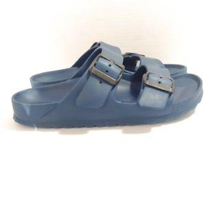 Birkenstock blue EVA Arizona sandals